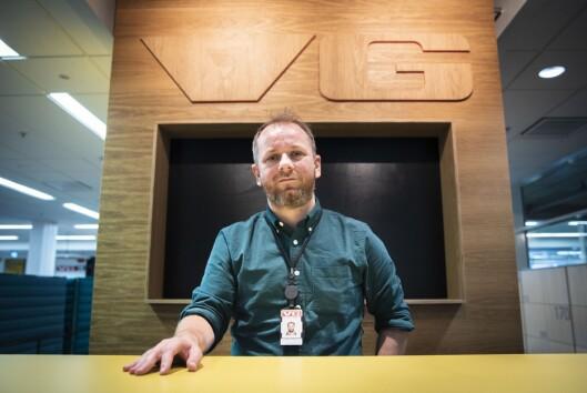 Klubbleiar og journalist Tor-Erling Thømt Ruud i VG.