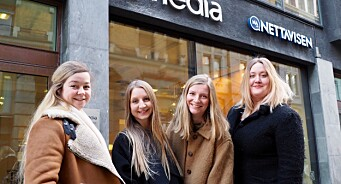 Fremovers nye journalister: Silja (27), Julie (25), Vilde (25) og Gisken (27)