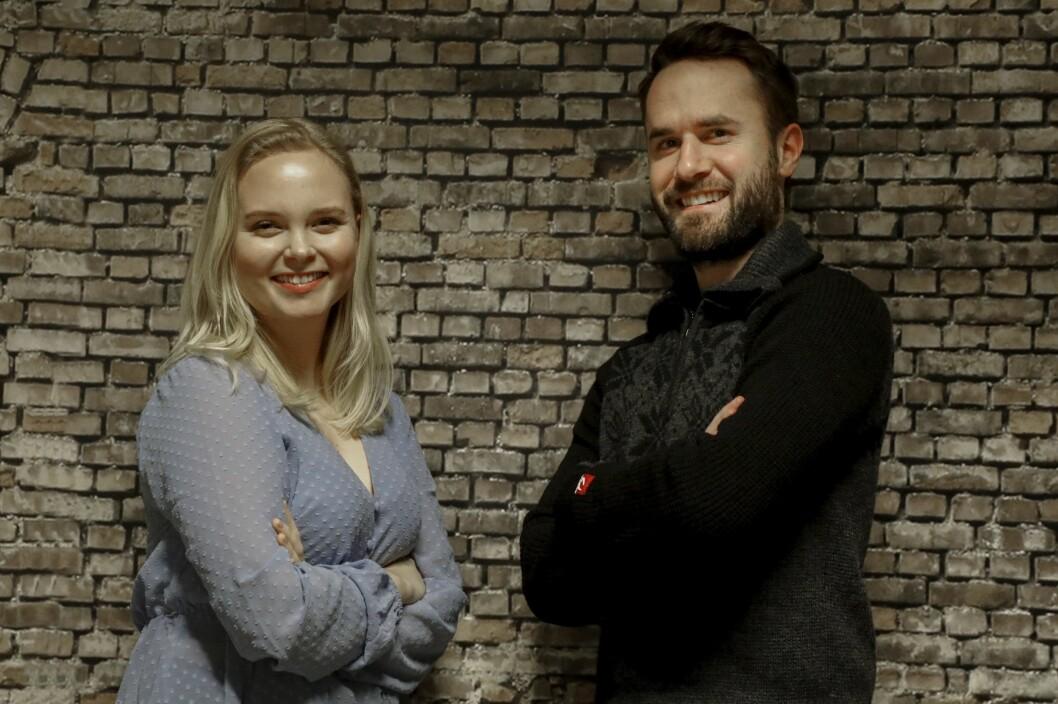 Nyansettelser i Haugesunds Avis: Ine Rossebø Knudsen (23) og Marius Amdal Haugen (29).