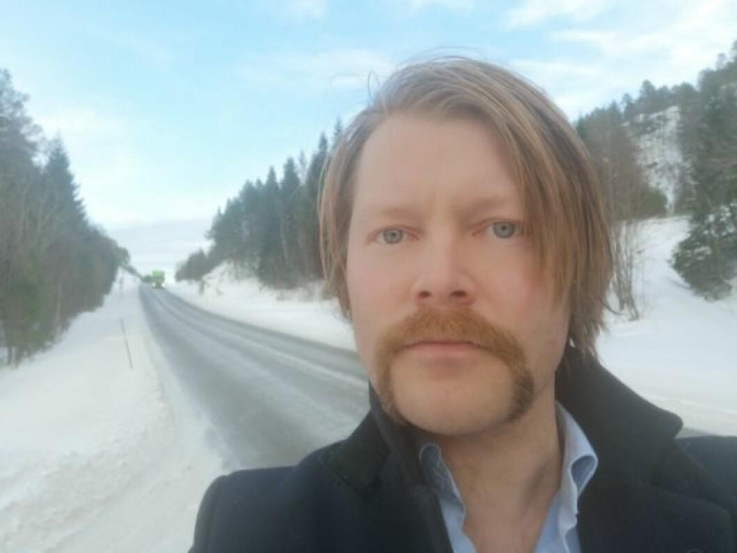 Slutter som redaktør: Robin Røkke i Nordre.