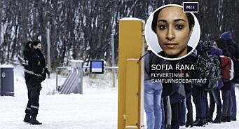 Hva vil Aftenposten oppnå med å bruke et slikt bilde av flyktninger?