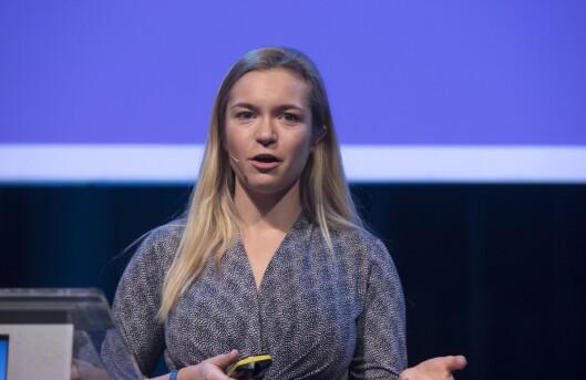 Mathilde Tybring-Gjedde (H) er blant dei som reagerte på artikkelen i Dagsavisen.