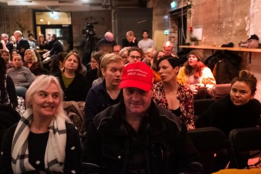 Det var stinn brakke då Oslo Journalistklubb og Oslo Redaktørforening arrangerte debatt om kommentarfeltet tysdag.