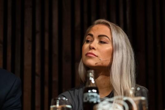 Debatt om kommentarfelt i regi av Oslo journalistklubb og Oslo redaktørforening. Ingeborg Senneset, journalist i Aftenposten og styremedlem i Norsk PEN