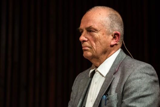 Debatt om kommentarfelt i regi av Oslo journalistklubb og Oslo redaktørforening. Hans Rustad, redaktør i Document.no