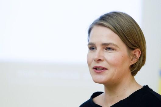 Journalist Hege Ulstein frå Dagsavisen. Bilete frå 2011.