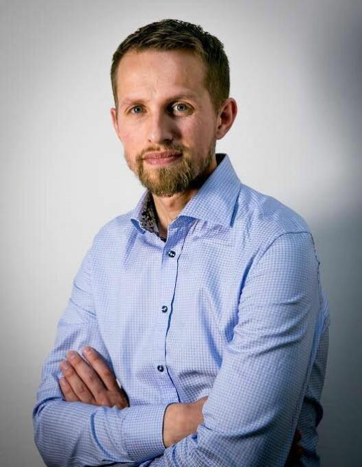 Helge Nitteberg, sjefredaktør i Nordlys.