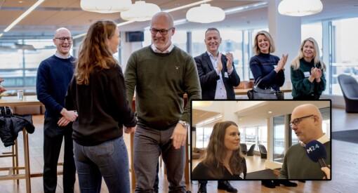 – Jeg er nesten litt «starstruck», ler Eivor Jerpåsen over å få NRK-sjefen som mentor