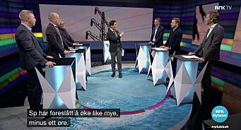 Ingen damer i «Debatten»: – Fant dere ikke kjerringa mot strømmen?