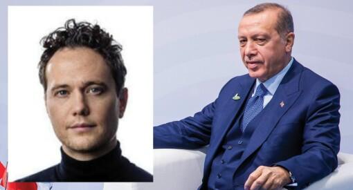 VG-journalist Nilas Johnsen ble advart mot å bli i Tyrkia etter Erdogan-bok