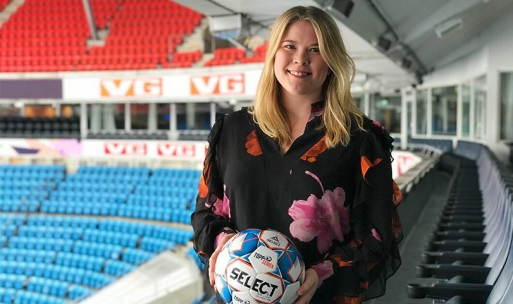 Toppfotball Kvinner henter tidligere TV 2-programleder Helene Husvik, som går inn i nyopprettet stilling som medieansvarlig.