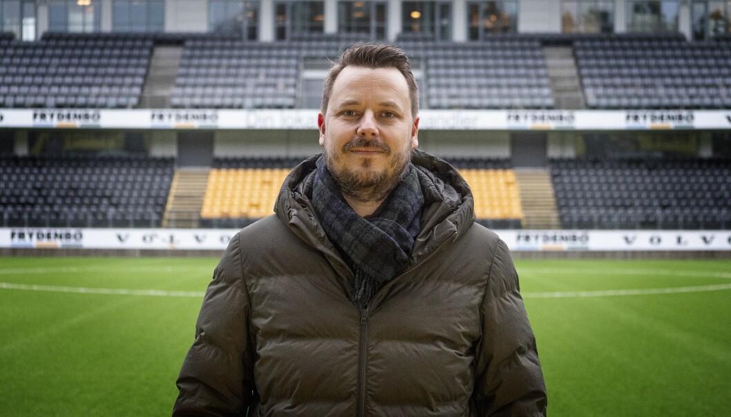 Pål W. Jørgensen, sportssjef i Fædrelandsvennen.