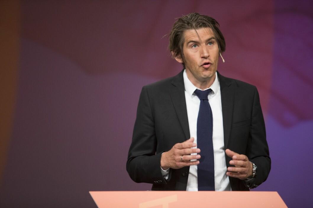 Redaktør i Dagens Medisin  Markus Moe