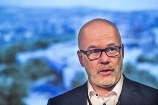 Kringkastingssjef Thor Gjermund Eriksen. Foto: Terje Bendiksby / NTB scanpix