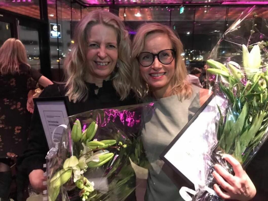 Adresseavisens graveduo Mari K. By Rise og Lajla Ellingsen vant hovedprisen.