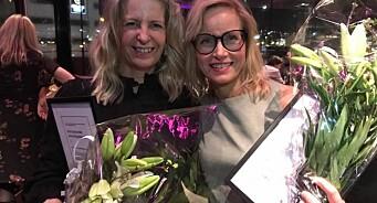 Nok en gang tok Adresseavisens Mari & Lajla hovedprisen i Trøndelag