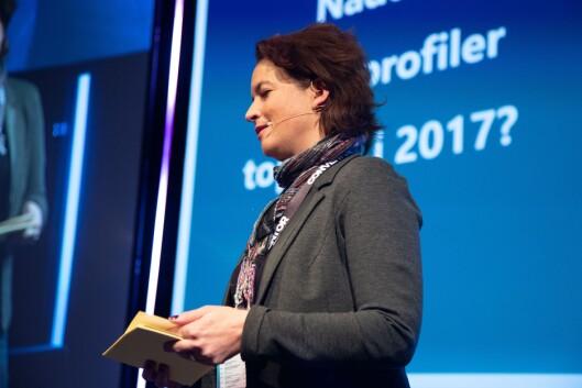 Nathalie Eyde Warembourg, Country Manager, IPSOS. Her på Social Media Days 2019.