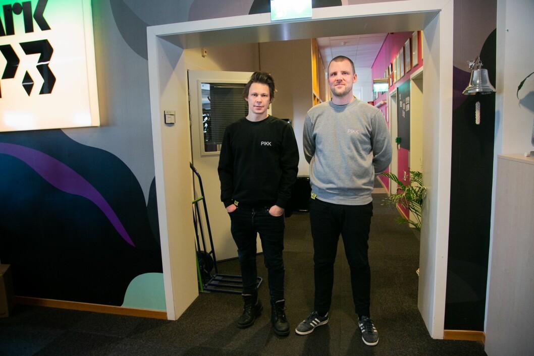 Mats Borch Bugge og Daniel Ramberg i NRK P3.