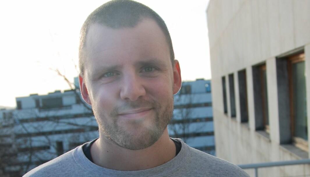 Daniel Ramberg, fungerende redaktør i NRK P3