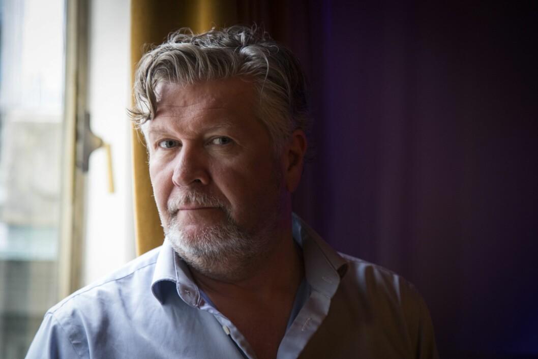 Fester blikket på nytt storprosjekt: Regissør Per-Olav Sørensen. Foto: Heiko Junge / NTB scanpix