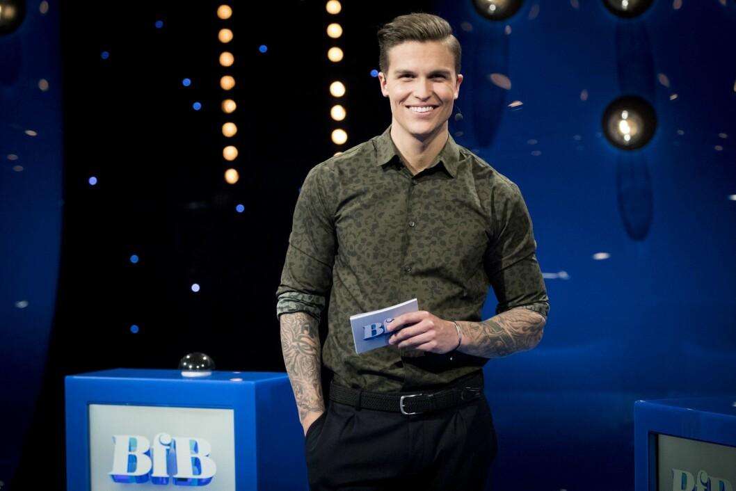 Programleder Atle Pettersen i Beat for Beat på NRK.