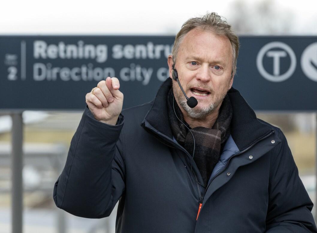 Byrådsleiar Raymond Johansen (Ap).
