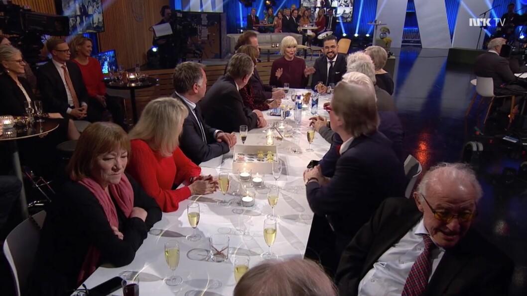 Dagsrevyen sitt 60 års jubileum på NRK 15. desember 2018.