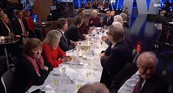 NRK brukte 1,7 millionar kroner på å feire seg sjølv på TV: – Flaut, seier Frp-politikar