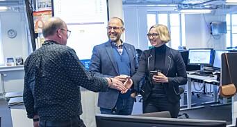 NTB-sjef Storvik er overbevist om at Sarah Sørheim blir sjefredaktør en dag: - Hyggelig