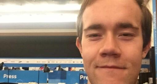 Nicholas Bergh blir ny journalist i Aftenposten Junior
