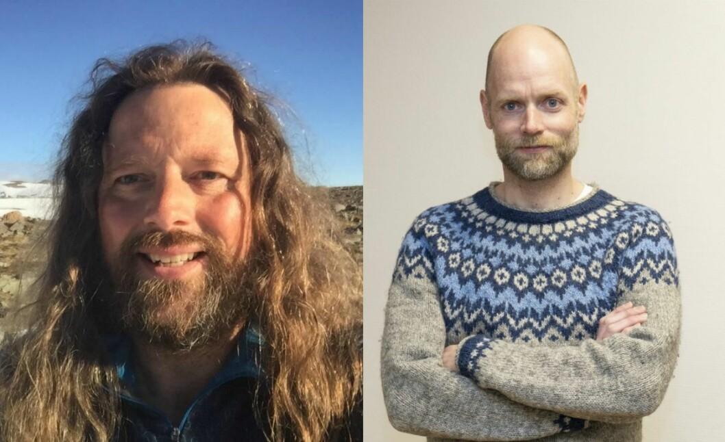 Martin Kristiansen og Tony Gulla Sivertsen.