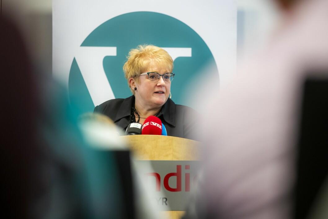 Kulturminister og partileder i Venstre, Trine Skei Grande.