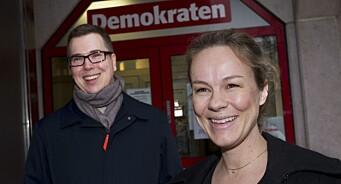 Henriette Ydse Krogstad (38) blir Demokratens første kvinnelige redaktør