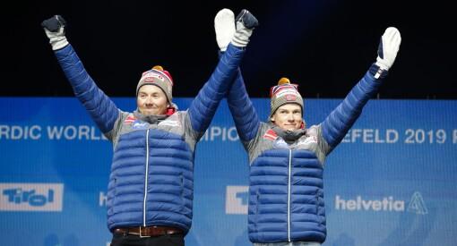 Over én million så Klæbo og Iversen ta VM-gull i lagsprint