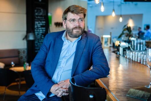 Sigvald Sveinbjørnsson, sjefredaktør i Bergensavisen.