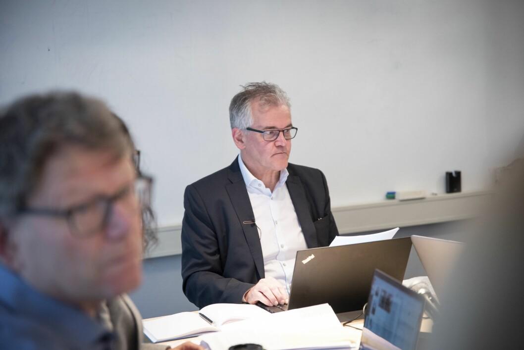 PFU-leder Alf Bjarne Johnsen i møtet i utvalget 27. februar 2019.