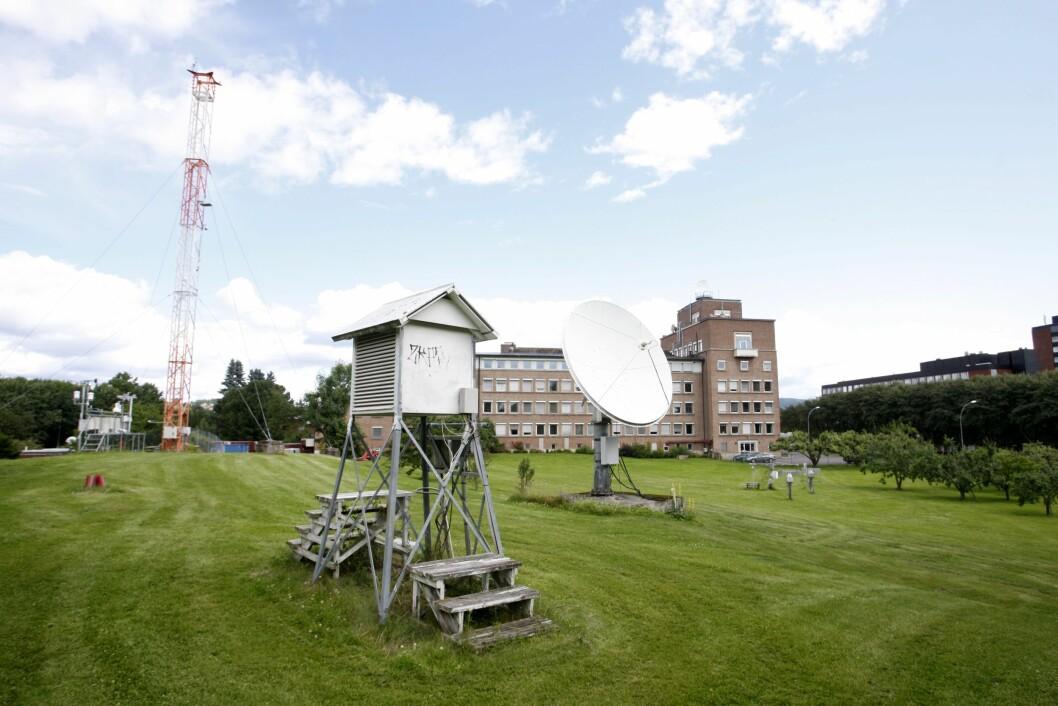Meteorologisk institutt på Blinderen i Oslo.