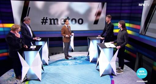 Fredrik Solvang ut mot kvinner som ikke ville stille i Debatten: – Dere er feige