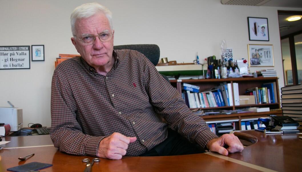 Hegnar Media-sjef og redaktør i Finansavisen, Trygve Hegnar.