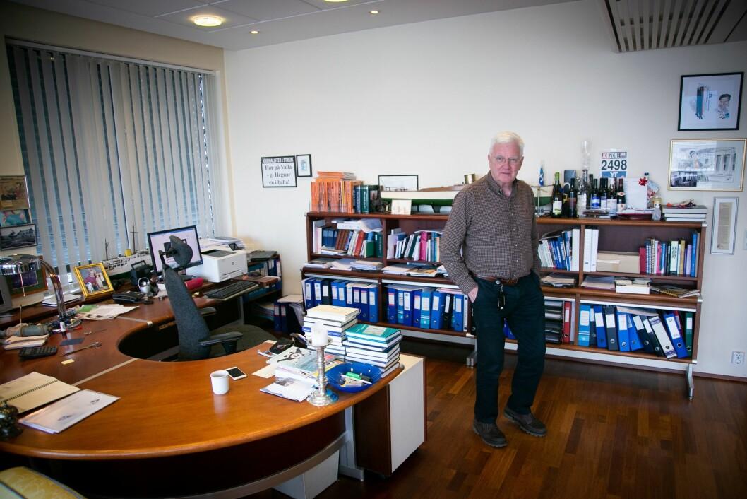 Hegnar Media-sjef Trygve Hegnar. Med selskapet sitt Periscopus eig han ABC Startsiden og Hegnar Media, som inneber Kapital og Finansavisen.