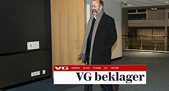 VG beklager artikkel om Trond Giskes dansing