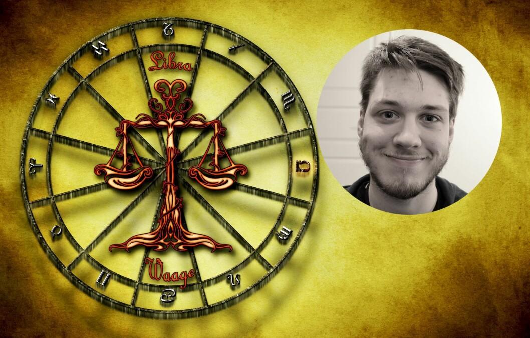 Erik Iversen mener mediene må være forsiktige når de omtaler horoskop og løfter fram spørsmålet«Bryr folk seg om at de har fått nytt stjernetegn»?