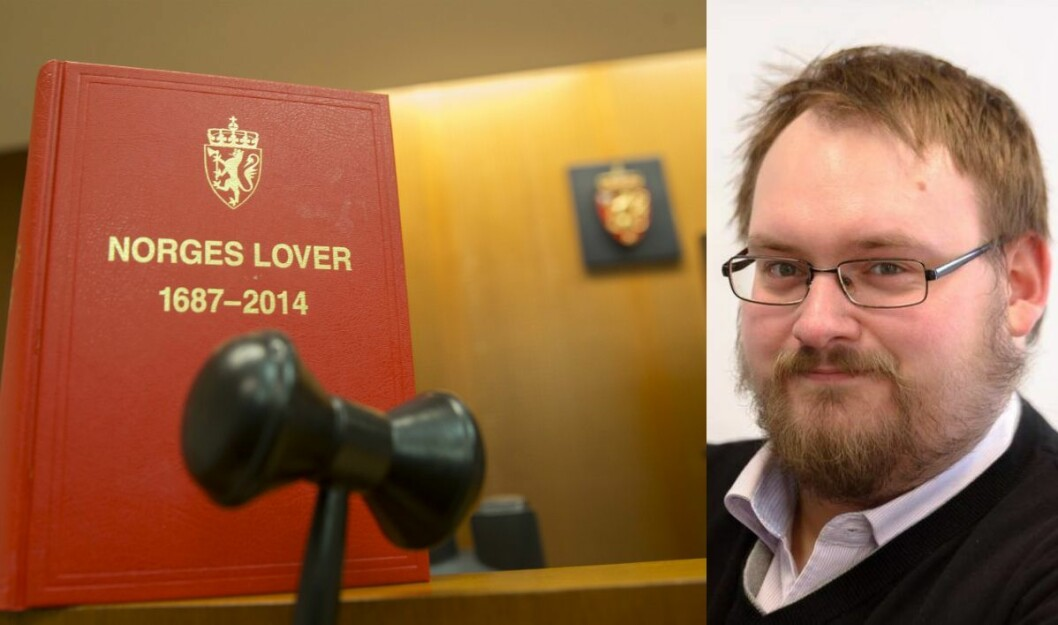Nettsjef og krimjournalist i Brønnøysund Avis, Simon Aldra.