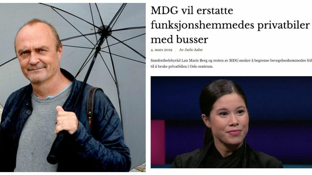 Jarle Aabø og hans artikkel.