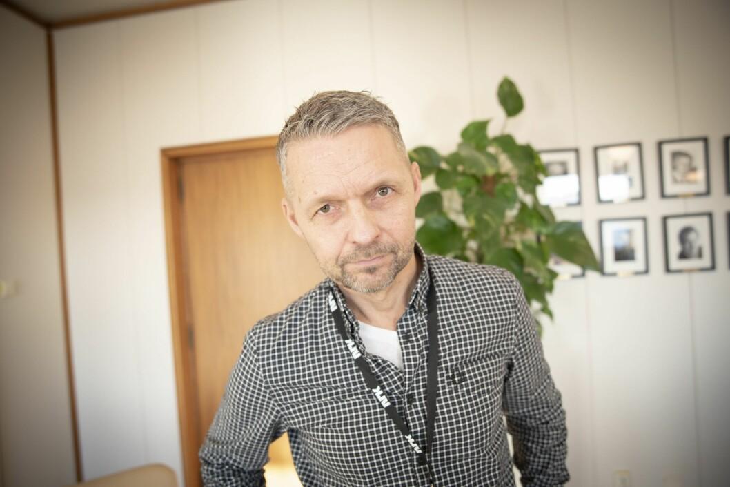 Distriktsdirektør Marius Lillelien i NRK.