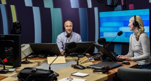 Se bildene: Her er det nye Dagsnytt 18-studioet