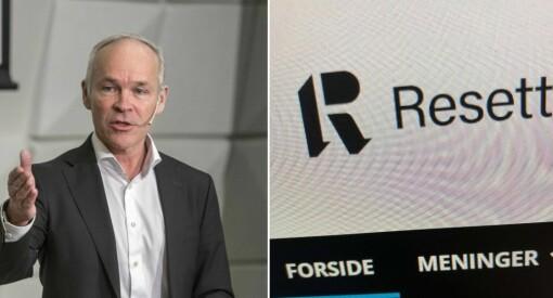Norsk statsråd blir kvalm av å lese Resetts kommentarfelt etter terroren: - Jeg blir fysisk dårlig