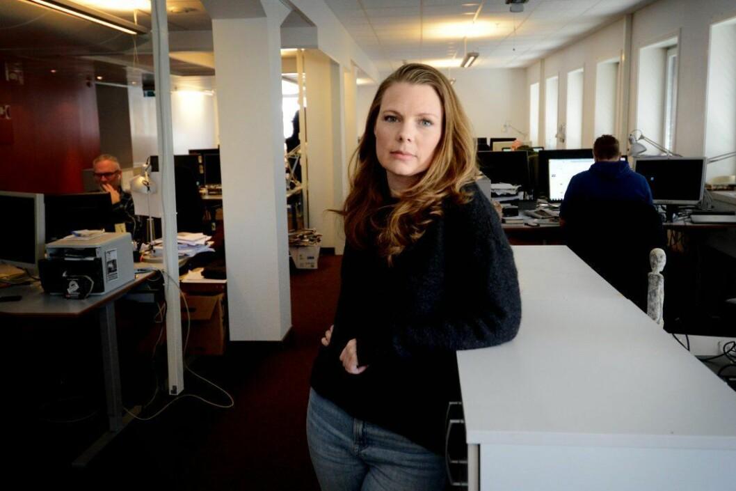 Nyhetsleder Eivor Jerpåsen i Tønsbergs Blad.