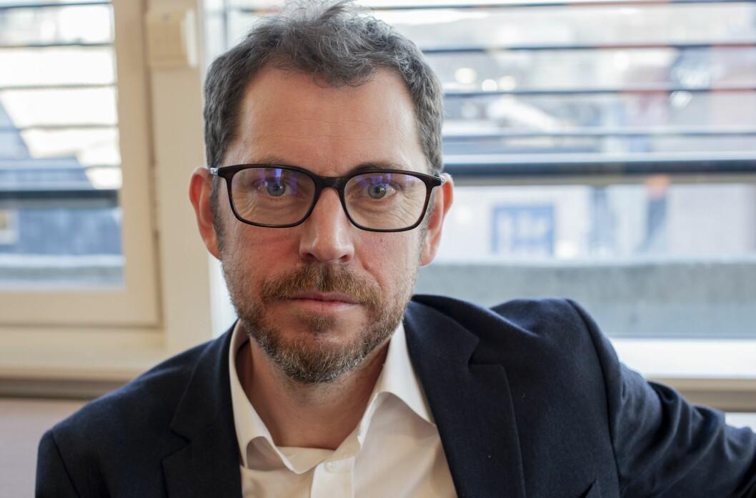 Bjørn Kristoffer Bore, sjefredaktør i Vårt Land.