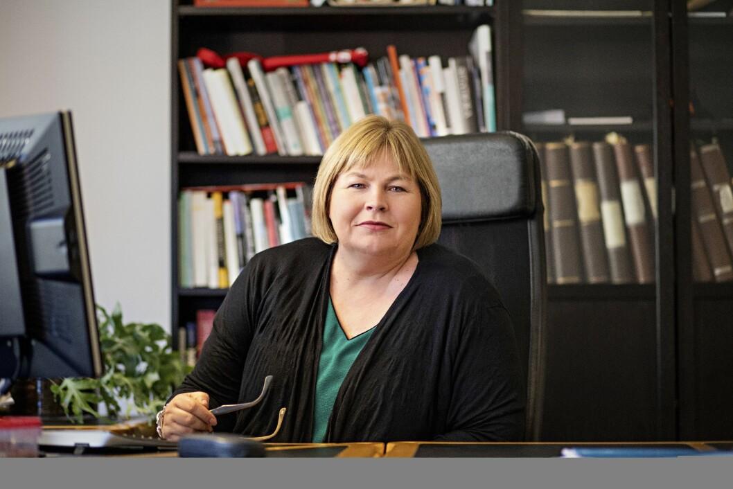 Elin Floberghagen i Norsk Presseforbund.